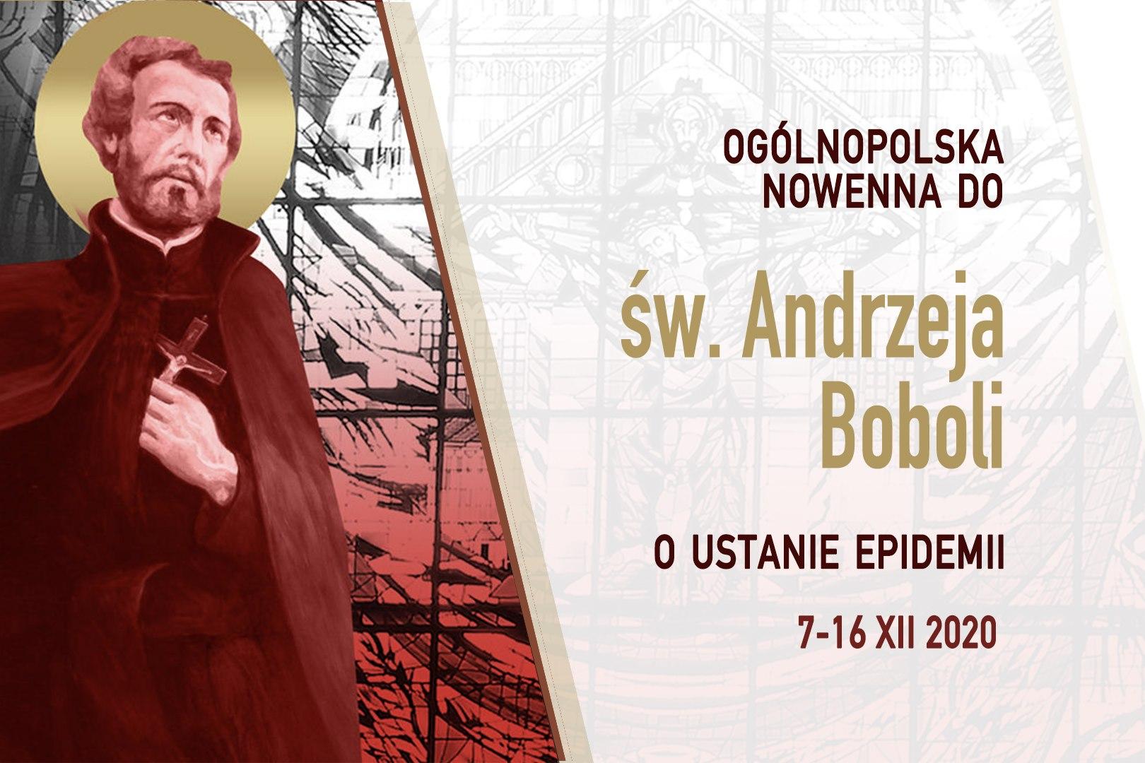 Ogólnopolska Nowenna do św. Andrzeja Boboli o ustanie epidemii